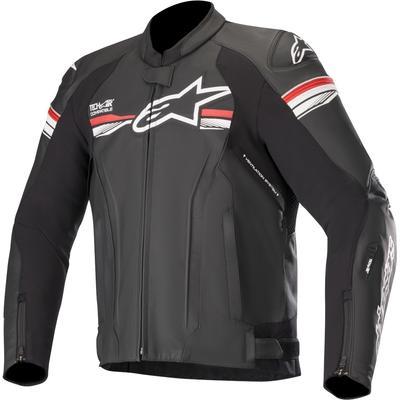 Alpinestars GP-R v2 Tech-Air Motorrad Lederjacke, schwarz-rot, Größe 54