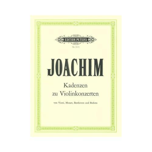 Edition Peters Kadenzen zu Violinkonzerten