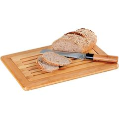 KESPER for kitchen & home Schneidebrett, für Brot, mit Krümelfach beige Schneidebrett Kesper