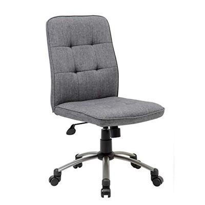 Boss Office Products (BOSXK) 1 Ergonomic Office Chair Fabric Slate Gray