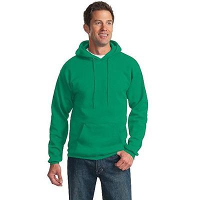 Port & Company Tall Essential Fleece Pullover Hooded Sweatshirt. PC90HT Kelly