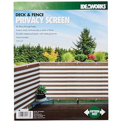IdeaWorks Deck Fence Privacy Screen