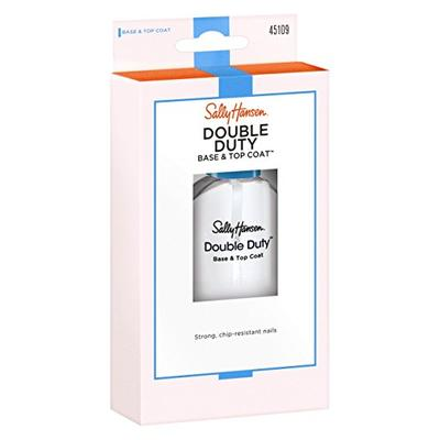 Sally Hansen Double Duty Base & Top Coat 0.45 Ounce (13.3ml) (6 Pack)