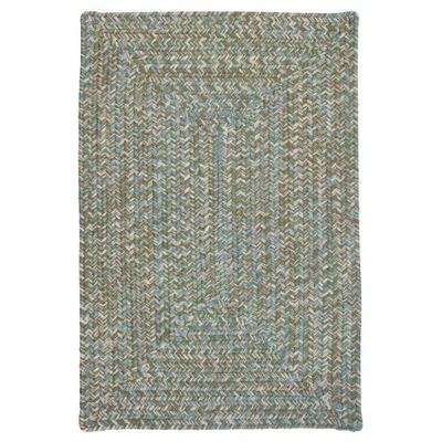 Corsica Rectangle Area Rug, 2 by 3-Feet, Seagrass