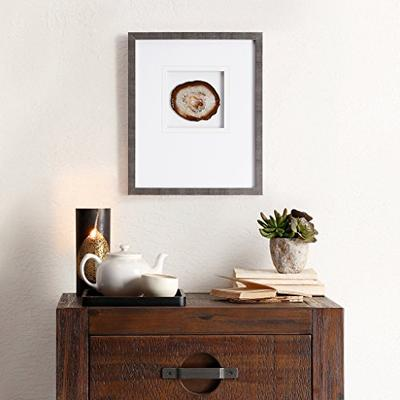 Madison Park Natural Agate Stone Framed Graphic Natural See Below
