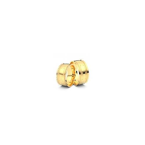 Trauringe Leinfelden 750er Gelbgold - 6402