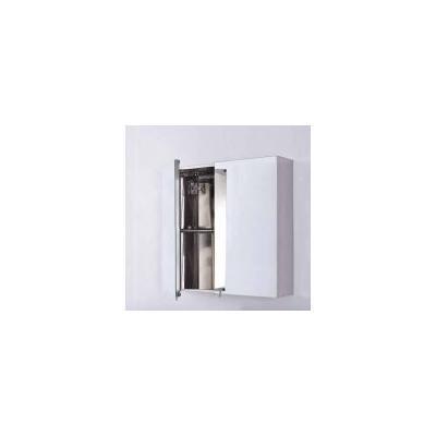 Bellaterra Home Bellaterra Double Door Mirrored Medicine Cabinet, 22 23-Inch