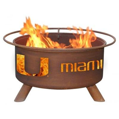 Miami Canes Fire Pit & Grill