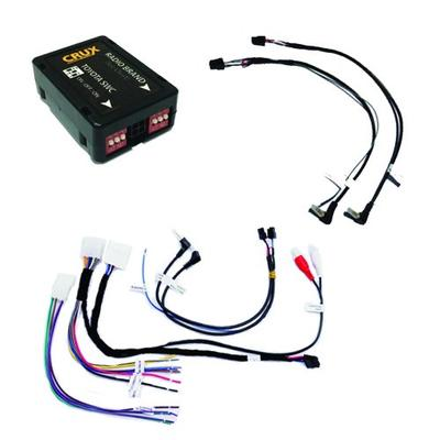 CRUX SWRTY-61S Radio Replacement with SWC Retention (for Select Toyota Vehicles 2003-2011)