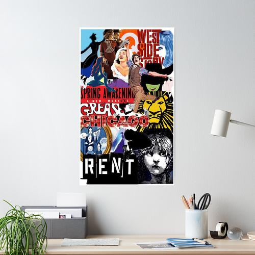 broadway theatre Poster