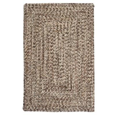 Corsica Rectangle Area Rug, 2 by 12-Feet, Weathered Brown