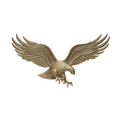 """White Hall Decorative 36"""" Wall Eagle - Antique Brass"""