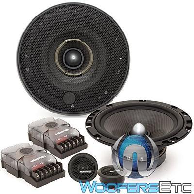 "Memphis MCX60C 6.5"" 50W RMS M-Class 2-Way Component Speakers System"
