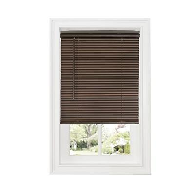 "Achim Home Furnishings DSG236MH06 Cordless GII Deluxe Sundown 1"" Room Darkening Mini Blind, Mahogany"