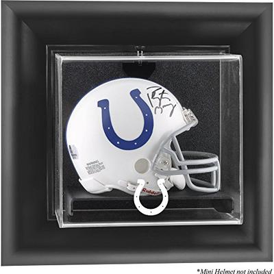Mounted Memories Indianapolis Colts Wall Mounted Mini Helmet Display Case - Indianapolis Colts One S