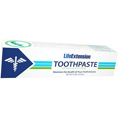 Life Extension Toothpaste 4 Ounce (Pack of 2)