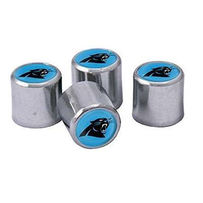 Carolina Panthers Chrome Valve Stem Caps